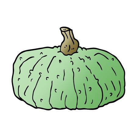 cartoon doodle squash