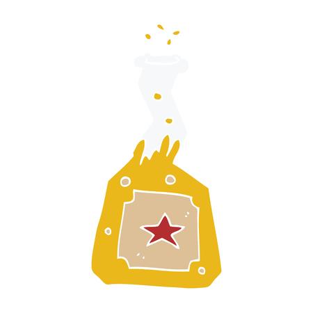 cartoon doodle experiment potions Illustration