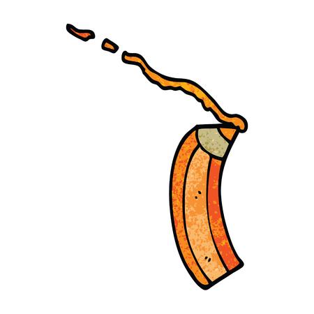 cartoon doodle colored pencil Reklamní fotografie - 110925705