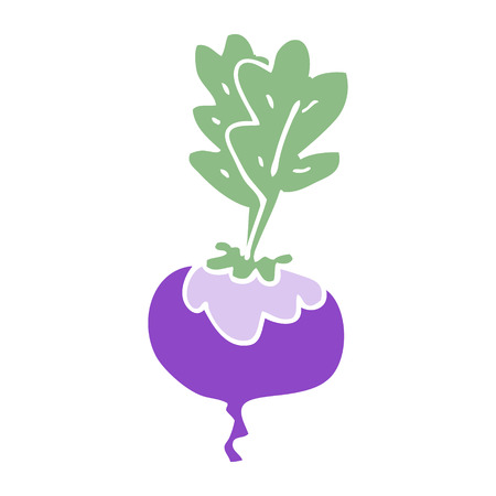 cartoon doodle beetroot Ilustracja