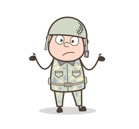 Cartoon Grandpa Laughing Loudly with Joy of Tears Vector Illustration  イラスト・ベクター素材
