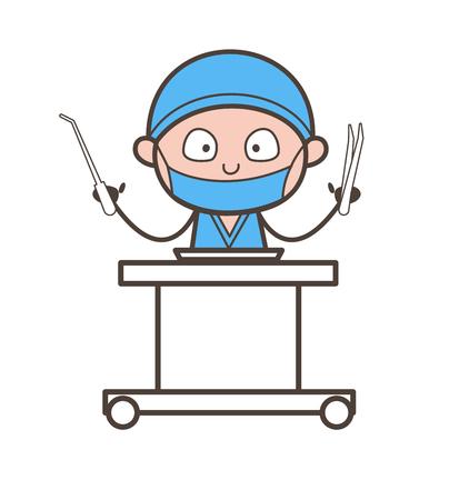 歯科用ツール ベクトル イラスト漫画歯科医 写真素材 - 84478857