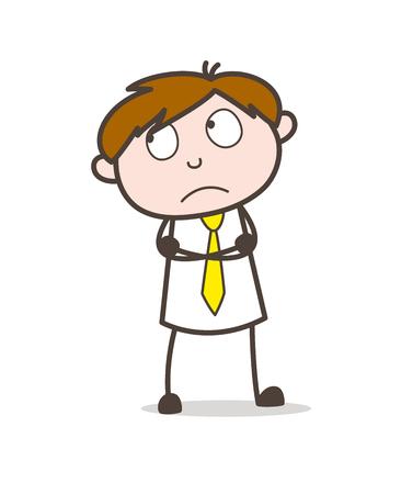 Thinking Business Employee