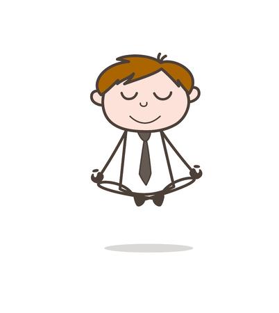 A Yoga Doing Meditation