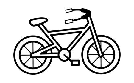 Retro Cycle - Retro Cop Policeman Vector Illustration Ilustrace