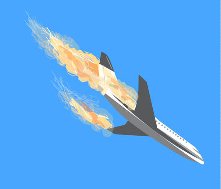 plane crash, Plane Accident, aircraft bombing, plane crashes, terrorism by plane, falling aircraft,  Terrorist act, Air Crash vector icon, plane vector, plane crash vector, Passenger air plane crash