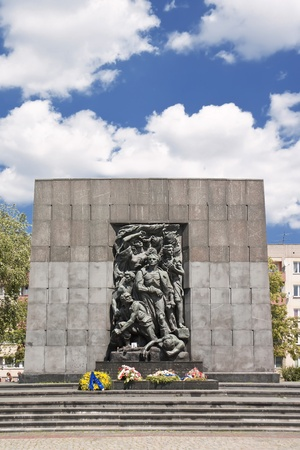judaic: Monument of Ghetto Heroes. Nazi Victims.