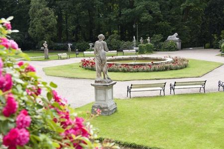 Orangery in Warsaw luxury garden Lazienki. Poland.  Stock Photo - 12001693