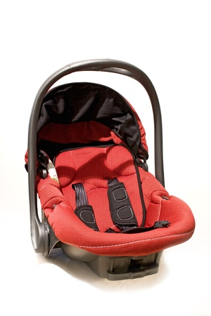 Child safety seat - isolated  photo