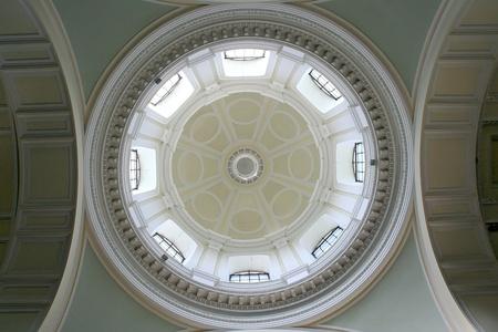 White vault in church  Warsaw in Poland  Stock Photo - 13162131