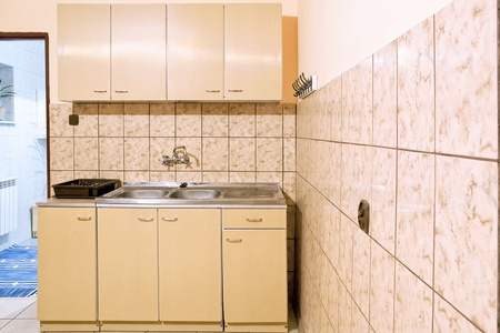 Typical Polish kitchen from 20th century  Stock Photo - 13162140