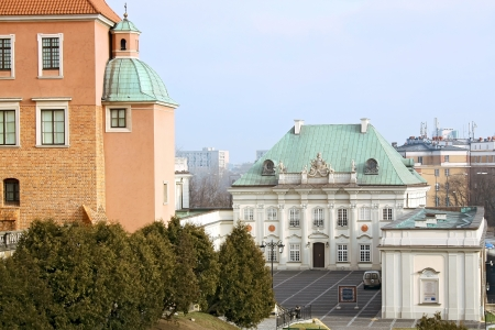 Sights of Poland  Warsaw Royal Castle   Stock Photo - 14338492