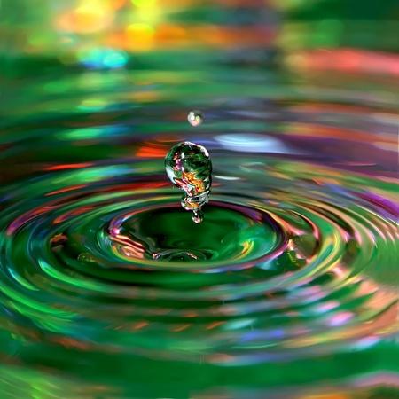 reflexion: La naturaleza verde.