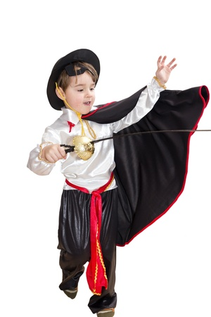 Boy with carnival costume  Stock Photo