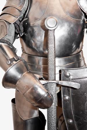 swordsmanship: Armor of medieval knight