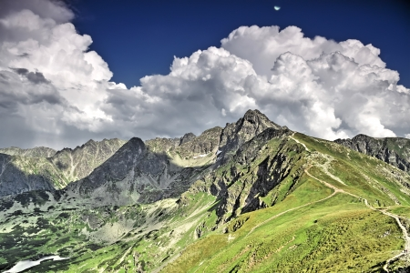 Polish landscapes  Mountain - Tatras  National park - ecological Stock Photo - 13931303