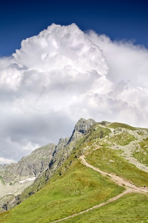 Polish landscapes  Mountain - Tatras  National park - ecological reserve   Stock Photo - 13931331