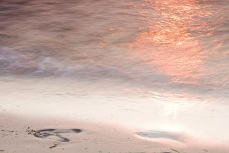 Background - sunset at seaside  Stock Photo - 13931323