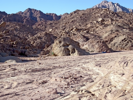 Mountains Sinai  photo