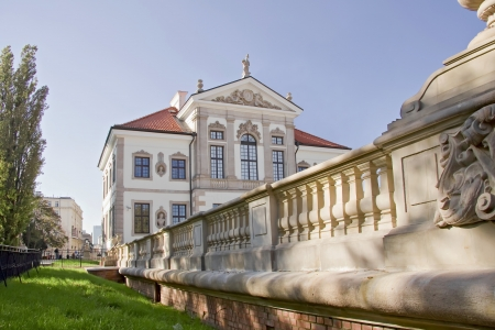 chopin heritage: Museum of Frederick Chopin  Baroque palace in Warsaw  Famous Dutch architect Tylman van Gameren