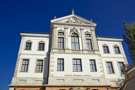 chopin heritage: Museum of Frederick Chopin  Baroque palace in Warsaw   Editorial