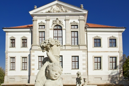 frederick street: Museum of Frederick Chopin  Baroque palace in Warsaw   Editorial