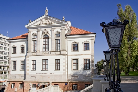 frederick street: Museum of Frederick Chopin  Baroque palace in Warsaw   Famous Dutch architect Tylman van Gameren