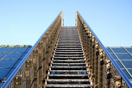 escalate: Stairway to heaven  Stock Photo
