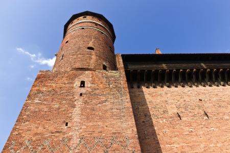 gothic castle: Lugares de inter�s de Polonia Olsztyn Ciudad Vieja con el g�tico castillo