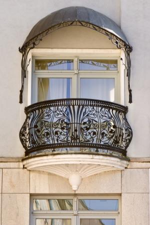 Klassieke architectuur in Polen Stockfoto