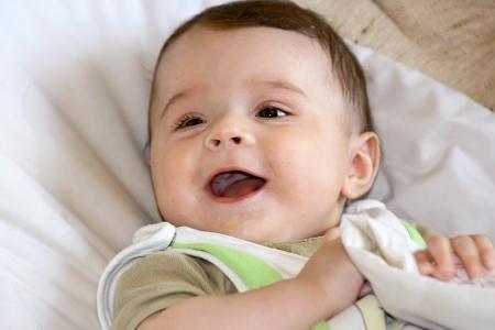 Feeding of infant   Stock Photo - 16639538