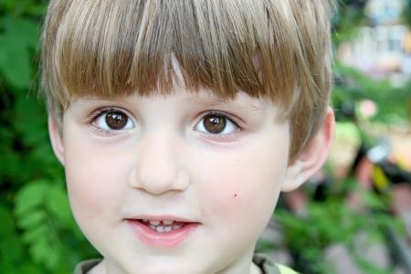 Happy boy in the park Stock Photo - 16639539