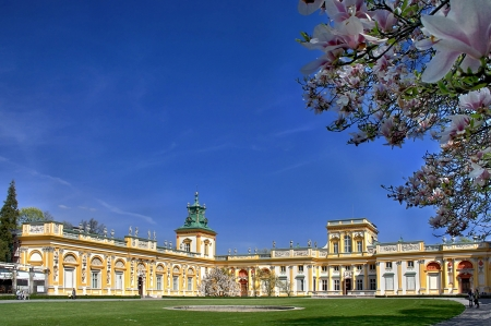 Polish palace Wilanow in Warsaw. Seat of king John III Sobieski. Stock Photo - 19074479