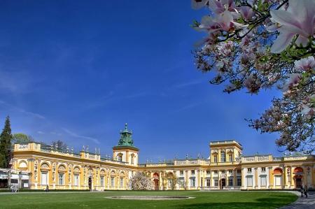 Polish palace Wilanow in Warsaw. Seat of king John III Sobieski. Stock Photo - 19074479
