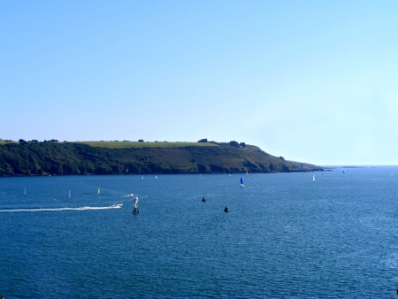 View on bay in Plymouth photo