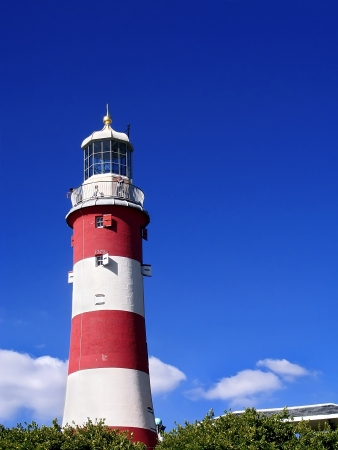 Lighthouse in Plymouth photo