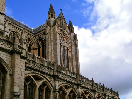 Protestant cathedral in Truro  great Britain  photo