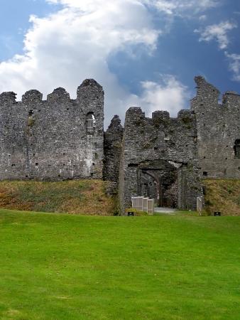 Ruin of Restormell. Beautiful medieval ruin in Cornwall  Great Britain  Stock Photo