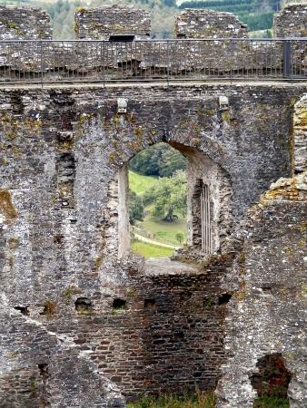lanhydrock: Ruin of Restormell. Beautiful medieval ruin in Cornwall  Great Britain  Stock Photo
