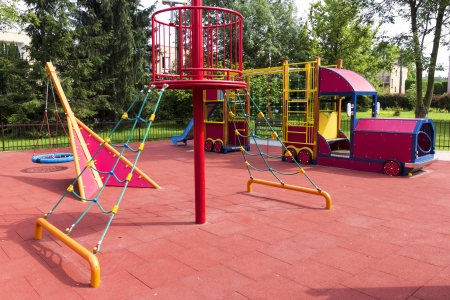Summer playground, full of attraction  photo