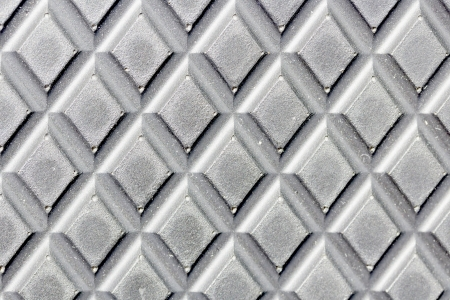 Dotted metal plate  Shiny steel  Metal background  photo