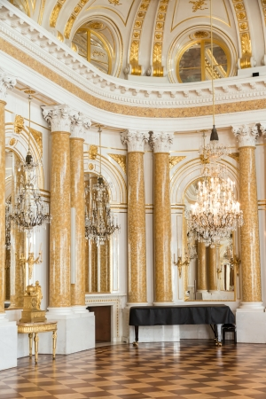 chandeliers: Ball room in Royal Castle in Warsaw
