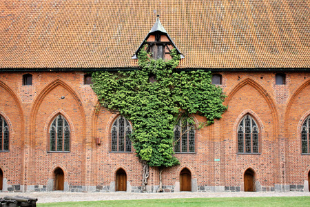 greatest: The greatest in Europe Gothic Castle. Malbork in Poland. World Heritage List of UNESCO. Editorial