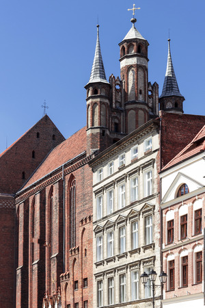 copernicus: Sights of Poland. Old Town in Torun. Torun - place of birth Nicolaus Copernicus.