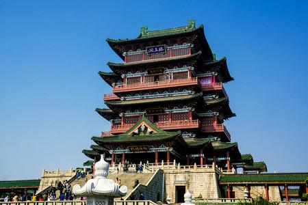 humankind: Pavilion of Prince Teng in Nanchang, Jiangxi Editorial