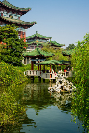 Pavilion of Prince Teng scenic area in Nanchang