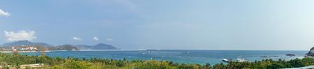 Panoramic view of the East China Sea, Sanya