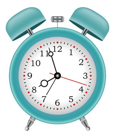 alarm clock bell jar wake up vector Ilustração
