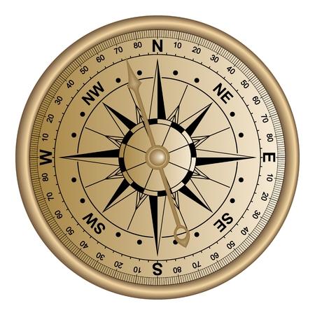 Kompassrose-Seennavigation lokalisierte Hintergrundvektor ENV Standard-Bild - 87713140
