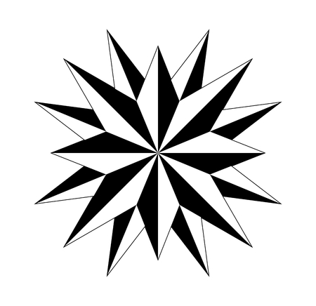 compass rose compassrose marine navigation isolated background vector eps